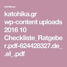 katohika.gr wp-content uploads 2016 10 Checkliste_Ratgeber.pdf-624428327.de_.el_.pdf Catering, Content, Pdf, Simple, Sons, Catering Business, Gastronomia