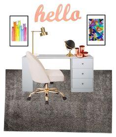 """Lylas room inspiration"" by carebear09 on Polyvore featuring interior, interiors, interior design, home, home decor, interior decorating and Stark"