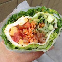 Schmaleo Sub-sandwich | Paleoschmaleo #lunch #wrap #primal #paleo #sandwich #lettucewrap