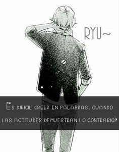 Frase anime ryu