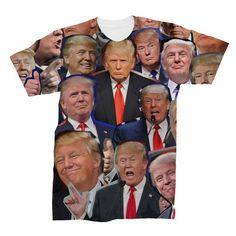 Donald Trump Photo Collage T-Shirt Trump High Quality New Fashion Brand Men Tshirt Clothes Camisetas Masculinas Donald Trump Photos, Donald Trump Funny, Donald Trump Supporters, 3d T Shirts, Great T Shirts, Fashion Brand, New Fashion, Trump Face, Zombie T Shirt