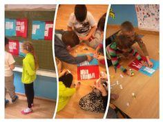 Balonowa ortografia ~ Zamiast kserówki. Edukacyjne gry i zabawy dla dzieci.
