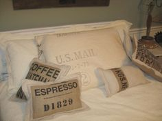 something about those coffee sacks!
