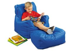 Beanbag Chair & Ottoman at Lakeshore Learning