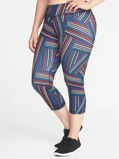PLUS SIZE HIGH EMPIRE WAIST COMPRESSION LEGGINGS ONE SIZE FITS MOST QUEEN