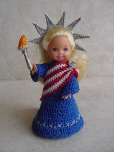 Specialty & Holiday Crochet Clothes Patterns for Kelly Doll - Crochet Crafts by Helga