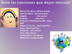 songs with message, songs, canciones, canciones con mensaje