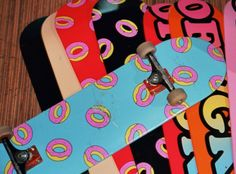 Odd Future is getting ready to release their latest skate decks. After the last drop included two designs, this one includes the Donuts all-over design, a graphic that we have consistently seen in the Golf Wang brand and new colors of the OFGWKTA deck. Both release in several colors this Saturday at the Odd Future/Golf …