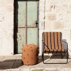 Fauteuil Desert Stripes | Ferm Living - Silvera Eshop