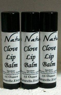Clove Lip Balm   .15 ounce     Tasty     Clove    Sweet And
