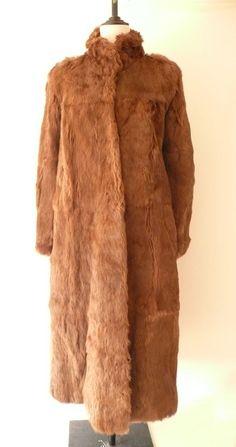1970'S Long Fur Coat by GenuineVintageShop on Etsy, £110.00