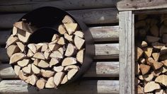 Lehtorinne Wood Rack takkapuuteline, valkoinen - Designbox Indoor Sauna, Knock On Wood, Wood Rack, Firewood Storage, Into The Woods, Fa, Cottage, Exterior, Studio