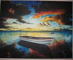 #boat #cloud #clouds #lake #landscape Contact: RomCGallery@gmail.com