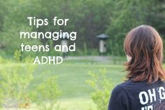 Tips for Managing Teens with ADHD #lifescript #ad
