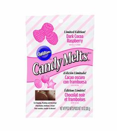 Wilton 1911100 Limited Edition Raspberry Candy Melts 10Ounce Dark Cocoa ** You can get additional details at the image link.