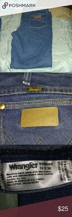 Men's wranglers jeans Men's wranglers jeans and great condition and thanks for looking Wrangler Jeans Straight