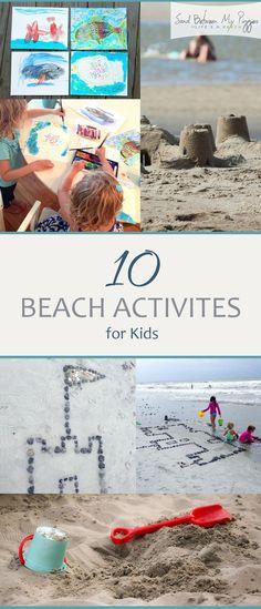 10 Beach Activites for Kids