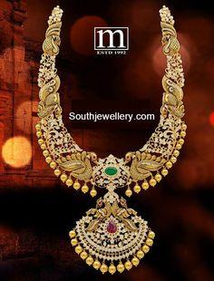 Peacock Diamond Long Chain