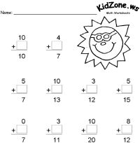 Fun summer themed resources for kids including printable activity worksheets; suitable for Kindergarten through Grade Back To School Crafts For Kids, Back To School Activities, School Ideas, Teaching Schools, Thematic Units, Unit Plan, Math Skills, Learning Resources, Summer Kids