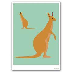 hardtofind. | Bush buddy kangaroo print