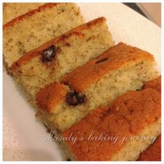 Banana Cake With Oil, Banana Cakes, Banana Recipes, Cake Recipes, Ogura Cake, Cotton Cake, Biscuit Bread, Baked Banana, Banana Bread