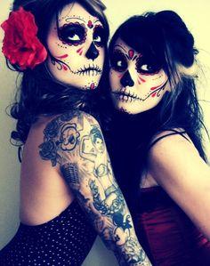 #makeup #eyes #face #nails Halloween