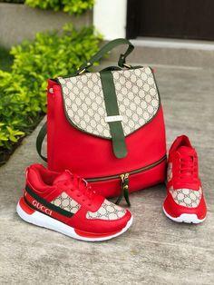 d93a7ed22c6  Gucci  Handbag  Shoes  Sneakers  Red  Summer  Autumn  Fashion