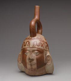 Portrait Head Bottle