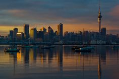 Good morning Auckland City, New Zealand