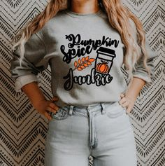 Cute Sweaters For Fall, Cozy Sweaters, 1st Fathers Day Gifts, Sweater Pumpkins, Sweater Weather, Pumpkin Spice, Trending Outfits, Sweatshirts, How To Wear