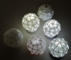 Table Lamp Variations by Prof. YM, via Flickr