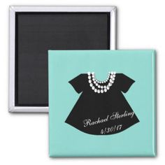 #personalize - #BABY & CO. Tiffany Baby Little Black Dress Magnet