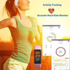 Easy Way To Use Iotton Color Display Fitness Activity Tracker As A Accurate Heart Rate Monitor Heart Rate Zones, Waterproof Fitness Tracker, Fitness Activity Tracker, Heart Rate Monitor, Android Smartphone, Display, Activities, Color, Text Posts