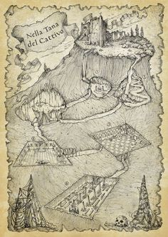 KataKumbas RPG Dungeon Map by FrancescaBaerald.deviantart.com on @DeviantArt