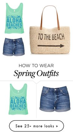 """Beach cutie"" by blackwidow23 on Polyvore featuring Topshop and Style & Co."
