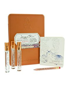 Nectar+++Pollen+Parfum+Sampler,+.27+fl.+oz.++by+Library+of+Flowers+at+Neiman+Marcus.