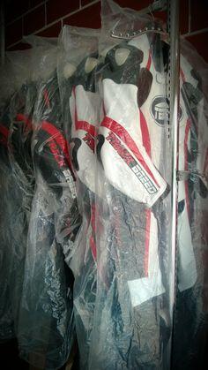 TBG GP Race suits on the rack!