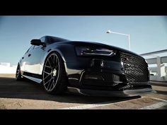 Vader 2014 Audi S4, Stance SC 8 wheels SCP matte black clear brushed bronze x Armytrix - YouTube