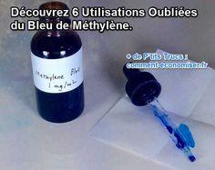 Avant l'apparition des antibiotiques, le Bleu de méthylène était un allié redoutable pour mettre en déroute bactéries, champignons et autres virus gênants.  Découvrez l'astuce ici : http://www.comment-economiser.fr/6-vertus-bleu-de-methylene..html?utm_content=buffer5dcb0&utm_medium=social&utm_source=pinterest.com&utm_campaign=buffer