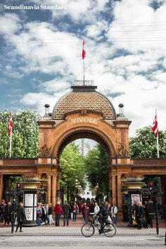 Tivoli Entrance Copenhagen | to do in Copenhagen Scandinavia Standard