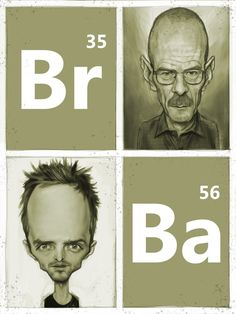 Breaking Bad is an American crime drama television series created and produced by Vince Gilligan. Art by David Boudreau Jesse Pinkman, Bryan Cranston, Walter White, Breaking Bad Series, Dog Soldiers, Vince Gilligan, American Crime, Caricature Drawing, Character Design References