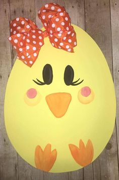 Painted door hangers spring easter eggs Ideas for 2019 Easter Projects, Easter Crafts For Kids, Diy Osterschmuck, Easter Paintings, Diy Easter Decorations, Diy Ostern, Wood Ornaments, Easter Wreaths, Spring Crafts