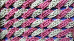 Узор вязания крючком Косички 32