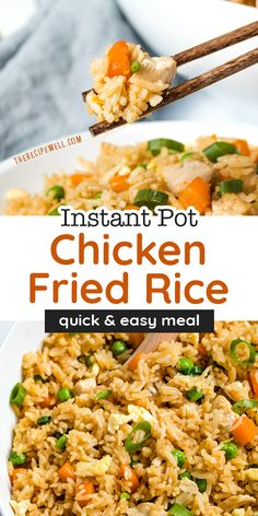 Fried Rice With Chicken, Beef Fried Rice, Ip Chicken, Entree Recipes, Side Dish Recipes, Seafood Recipes, Asian Recipes, Soup Recipes, Best Chicken Recipes