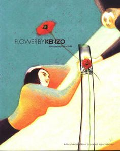 Flower Edition des Artistes (Lorenzo Mattotti) by Kenzo (2006).