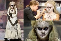 Deadly Dolls on SyFy's Face Off . shared by Porcelain Dolls For Sale, Porcelain Dolls Value, Fine Porcelain, Porcelain Ceramics, Painted Porcelain, Special Makeup, Special Effects Makeup, Pretty Halloween, Halloween Face Makeup