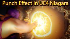Punch Effect | Unreal Engine Niagara Tutorials | UE4 Niagara Punch FX Unreal Engine, Punch, Engineering, Tutorials, Youtube, Mechanical Engineering, Technology, Youtubers, Youtube Movies