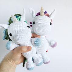 Irresistible Crochet a Doll Ideas. Radiant Crochet a Doll Ideas. Crochet Gifts, Cute Crochet, Crochet Yarn, Crochet Patterns Amigurumi, Amigurumi Doll, Cute Baby Gifts, Crochet Unicorn, Unicorn Crafts, Stuffed Animal Patterns