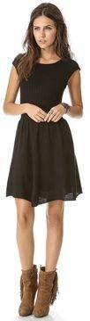 Bb dakota Jade Cap Sleeve Sweater Dress in blk on shopstyle.com