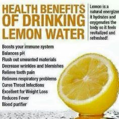 Research based health benefits of lemon water. Including a recipe of a detox lemon water that you can drink warm or cold. Health And Nutrition, Health And Wellness, Health And Beauty, Health Fitness, Health Facts, Health Care, Fitness Tips, Fitness Quotes, Workout Quotes